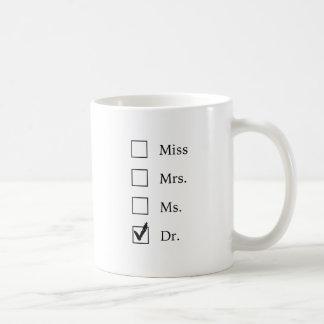 Mug Cadeaux de PhD pour des femmes