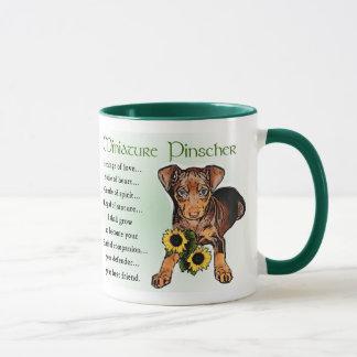 Mug Cadeaux de Pinscher miniature