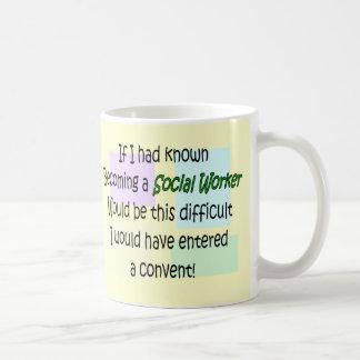 Mug Cadeaux drôles d'assistant social