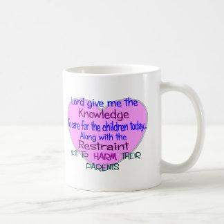 Mug Cadeaux pédiatriques d'infirmière--Énonciations