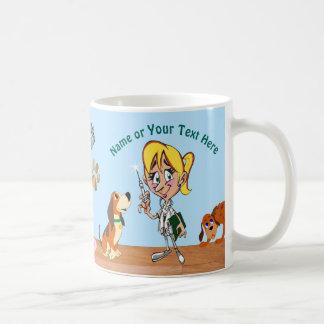 Mug Cadeaux personnalisés pour votre vétérinaire,