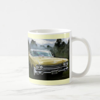 Mug Cadillac jaune
