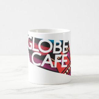 Mug Café de globe multicolore