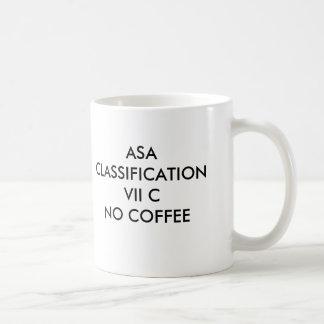 MUG CAFÉ DE LA CLASSIFICATION VII CNO D'ASA, ASA