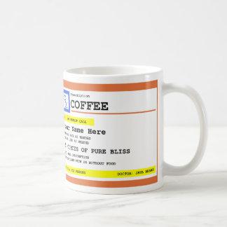 Mug Café de prescription personnalisé