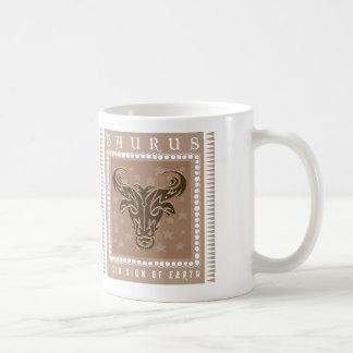 Mug Café de Taureau de zodiaque
