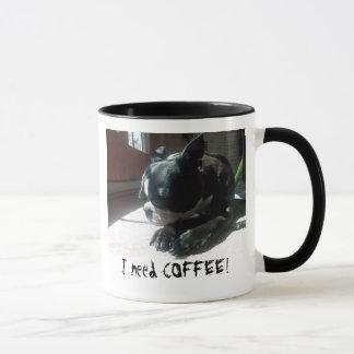 Mug Café des besoins de Boston Terrier