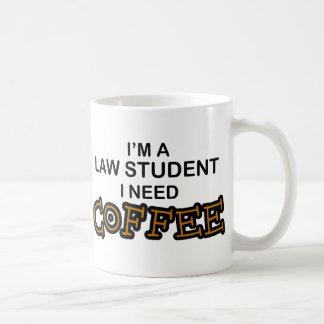 Mug Café du besoin - étudiant en droit