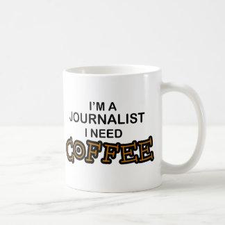 Mug Café du besoin - journaliste
