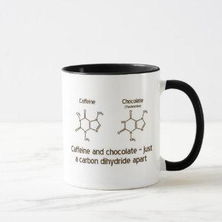 Mug Caféine et chocolat