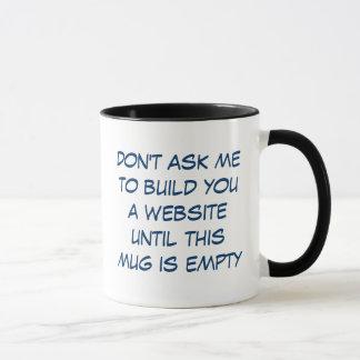 Mug Caféine JE !