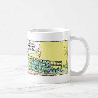 Mug Cage drôle de crocodile comique