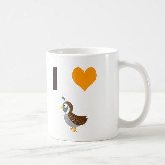 Mug Cailles du coeur I