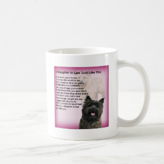 Mug Cairn Terrier - poème de belle-fille