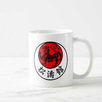 Mug Calligraphie japonaise de Shotokan Soleil Levant -