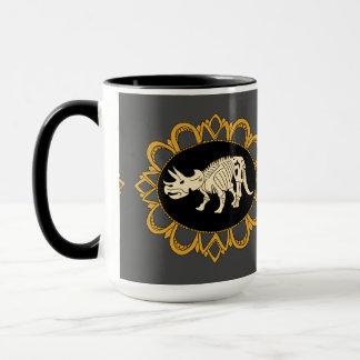 Mug Camée de fossile de Triceratops