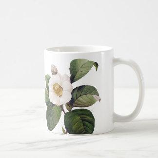Mug Camélia blanc