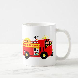 Mug Camion de pompiers