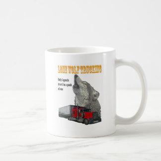Mug Camionnage de loup solitaire
