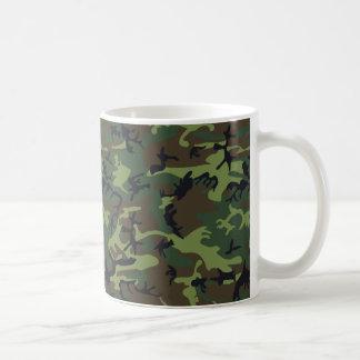 Mug [CAMO-GR-1] Camo vert et brun