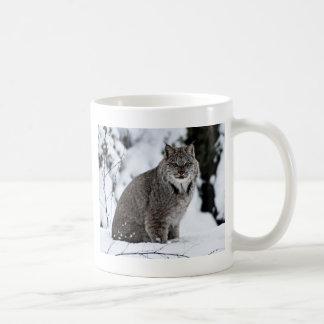 Mug Canadien Lynx dans la neige