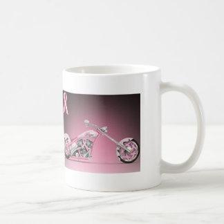 Mug Cancer du sein de ruban de rose de vélo de Harley