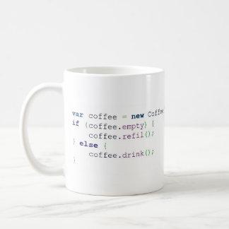 Mug Canette Algorithme Café (Coloriée - 325 ml)