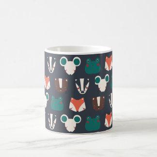 Mug canette animaux de la forêt