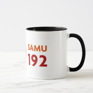 Mug Canette avec logomarca SAMU 192