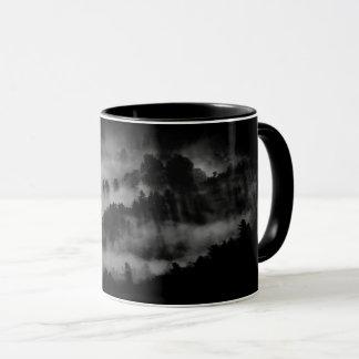 """Mug Canette forêt noire «alone """""""