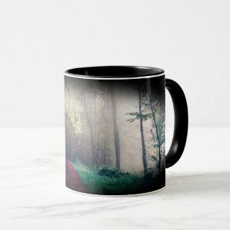"""Mug Canette forêt noire «Mist """""""
