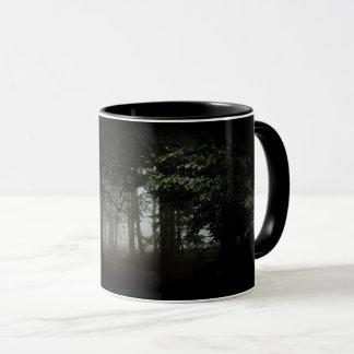 """Mug Canette forêt noire «whiteandblack """""""