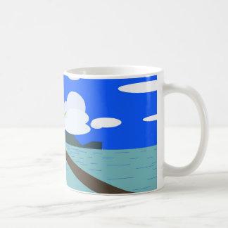 Mug Canette plage ensoleillée