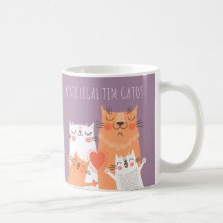 Mug Canettes - des Gens légaux ont des chats