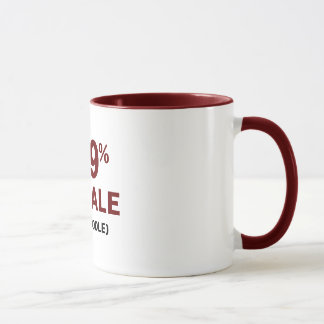 Mug Caniche de la femelle 1% de 99%