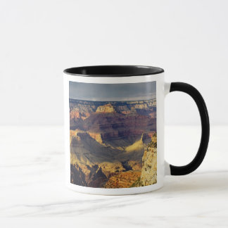 Mug Canyon grand de la jante du sud au coucher du