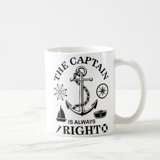 Mug Capitaine Funny
