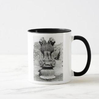 Mug Capital de lion du pilier de l'empereur Ashoka