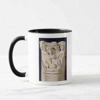Mug Capital un soulagement dépeignant