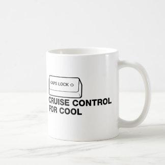 Mug capslock - contrôle de croisière pour le cool