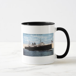 Mug Car-ferry de Pere Marquette 21 le lac Michigan de