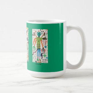 Mug Caractères de l'imagination de Brian Dodd