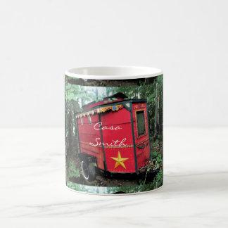 Mug Caravane minuscule gitane rouge customisée