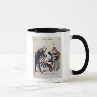 Mug caricature de Kaiser Wilhelm de la Prusse
