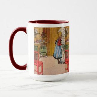 Mug Carl Larsson vintage la cuisine