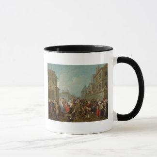 Mug Carnaval de rue à Paris, 1757
