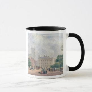 Mug Carré de Fitzroy, Londres (huile sur le panneau)