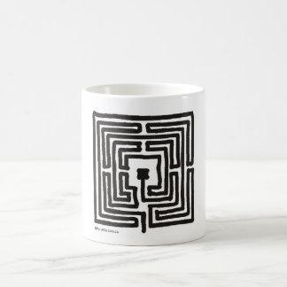Mug carré du labyrinthe 7