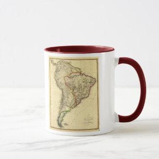 Mug Carte 1817 de l'Amérique du Sud