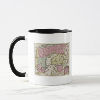 Mug Carte antique de la Suède 2